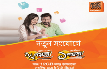 Banglalink New SIM Offer! 1GB@7TK! Special Call Rate!