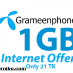 GP 21TK 1GB Internet Offer, Code & Validity
