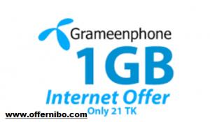 GP 1GB Internet Offer