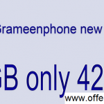 Grameenphone 2GB Internet 42TK Offer 2019