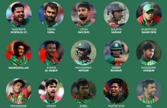 ICC Cricket World Cup 2019 Bangladesh Teams, Venue, Time-Table