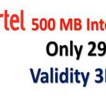 Airtel 500MB 29Tk Offer