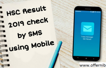HSC Result 2019 by SMS-Offernibo