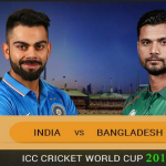India vs Bangladesh World Cup 2019 Live Score & TV Channel