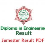 Diploma BTEB 4th 6th 8th Semester Result 2019 Published Date: