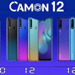 "Tecno Camon 12 Air: 4GB RAM & Battery 4000mAh & Display 6.55"""