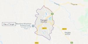 Tangail Map