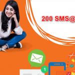Banglalink 200 SMS 5Tk Offer-Offernibo.com!