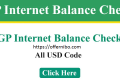 GP Internet Balance Check Code